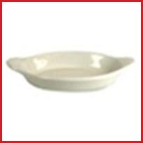 Oval Welsh Rarebits - American White