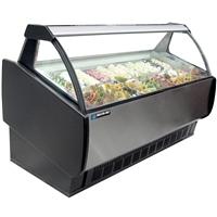 Gelato Ice Cream Cases