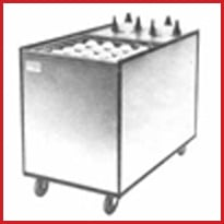 Unheated Mobile Plate Dispensers